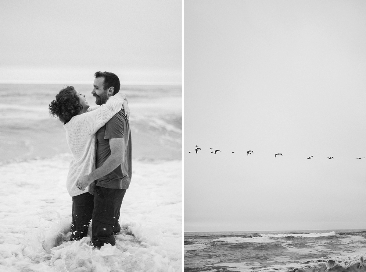 California engagement shoot
