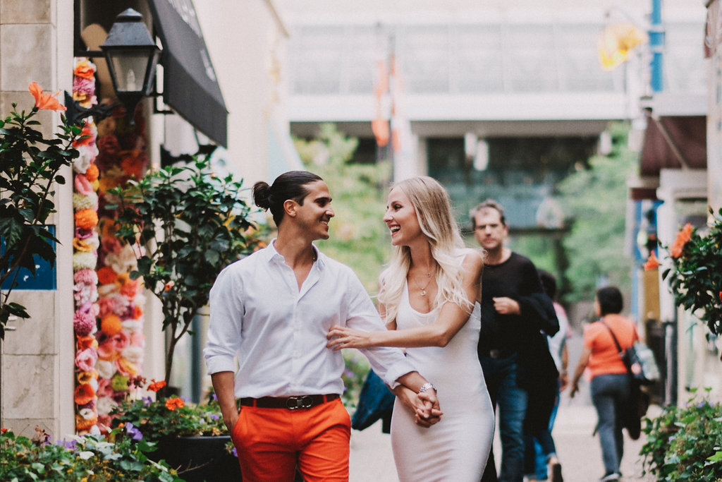Yorkville engagement session
