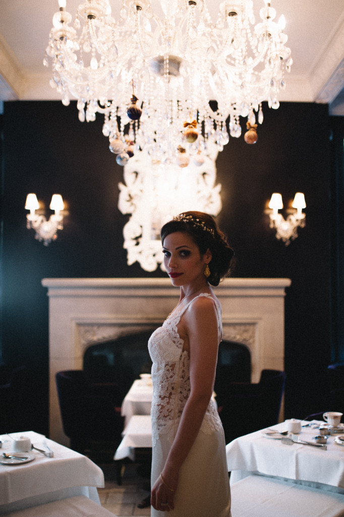 Bride at the Windsor Arms Hotel in Toronto