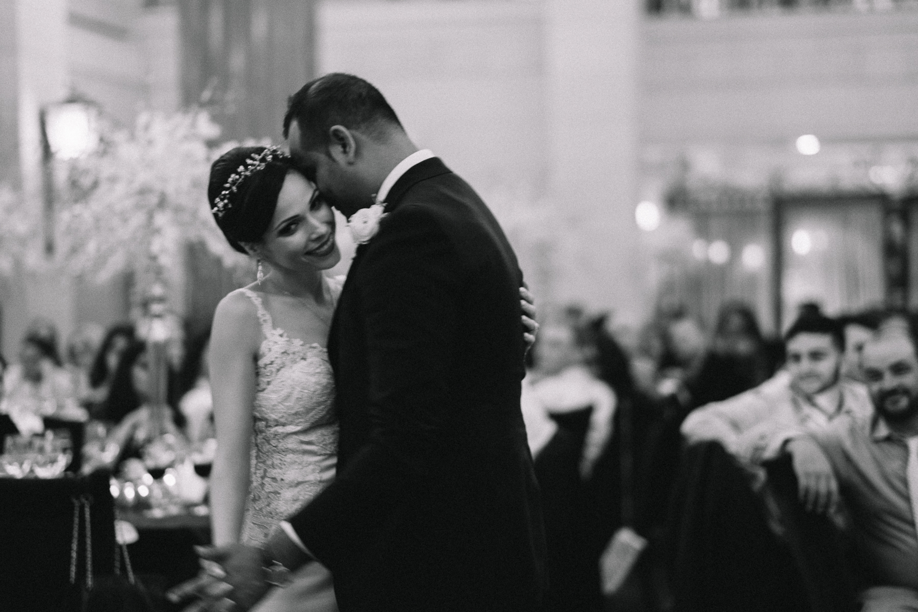 First dance at Windsor Arms Hotel