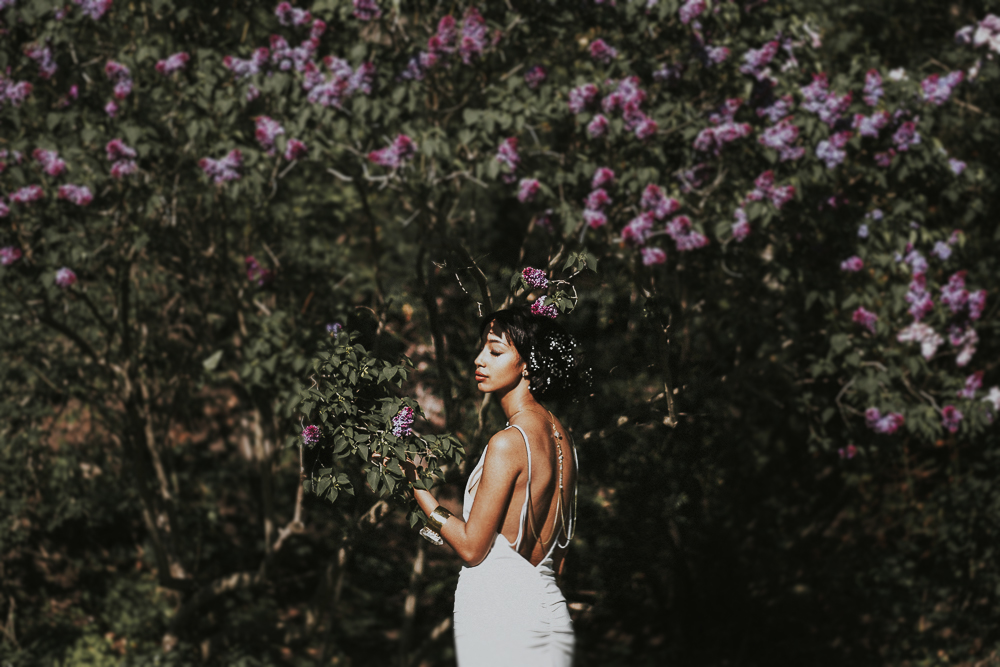 styled bridal shoot, nicole miller bridal