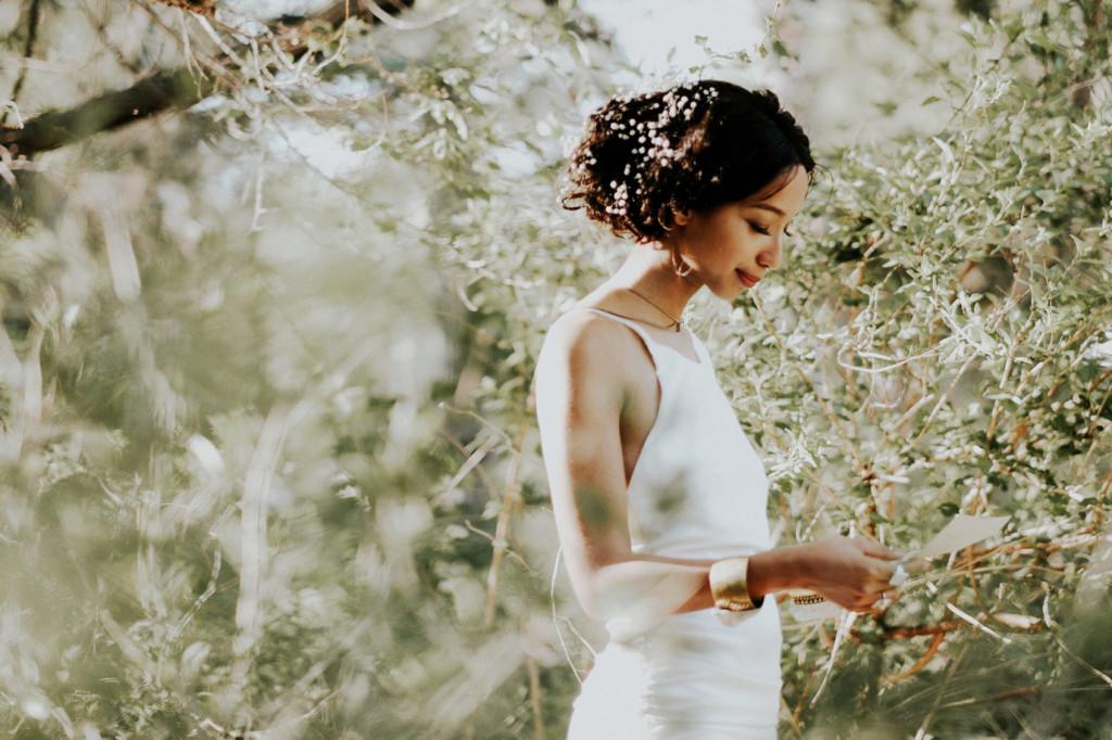 boho inspired bridal shoot