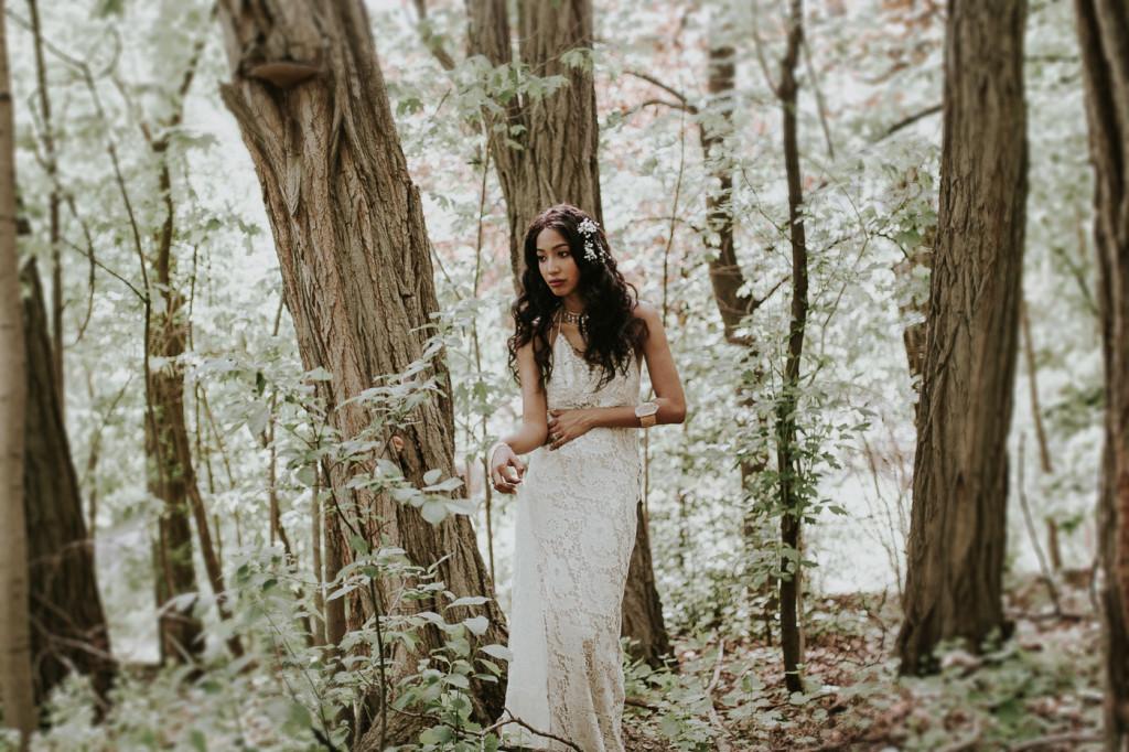 Boho bridal shoot