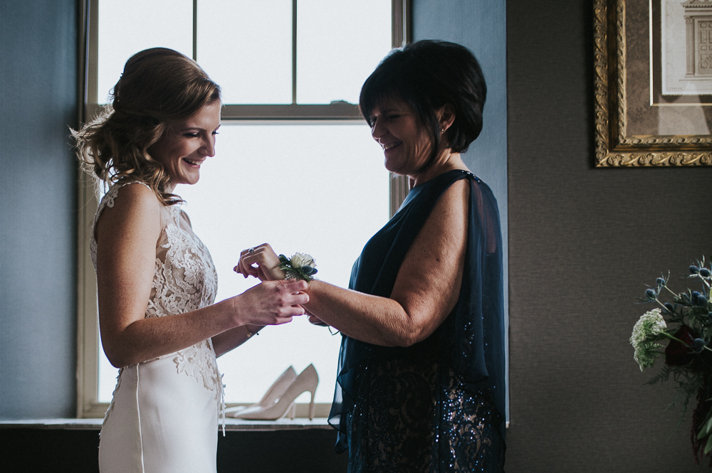 mother daughter wrist corsage