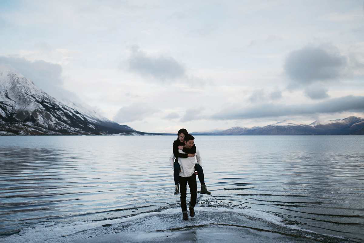 Kluane Lake Engagement Session Hennygraphy