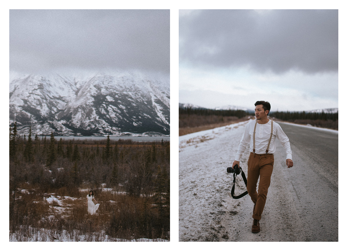 Yukon Alaska Highway Engagement Session Hennygraphy