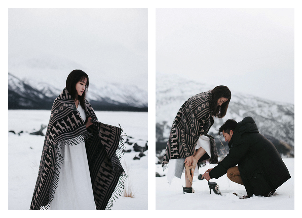 Winter Mountain Engagement Session Hennygraphy