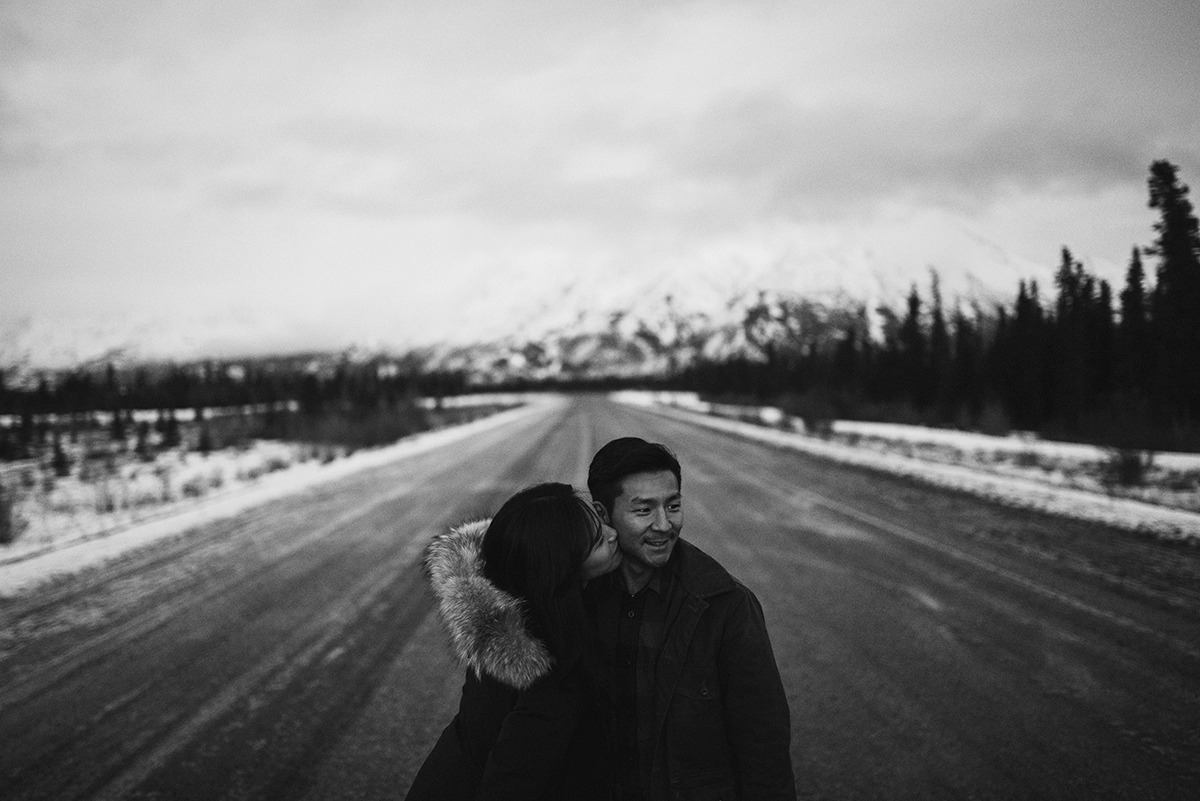 Kluane Lake Yukon Engagement Session Hennygraphy