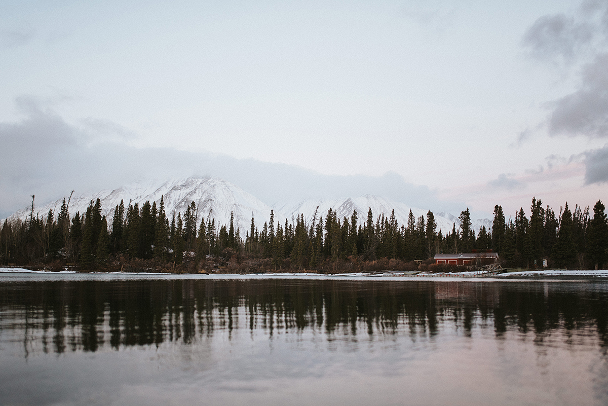 Kathleen Lake, Yukon Territory, Canada