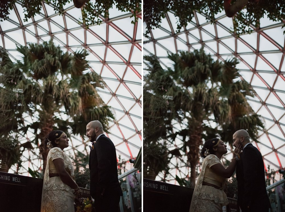 Bloedel Conservatory Wedding