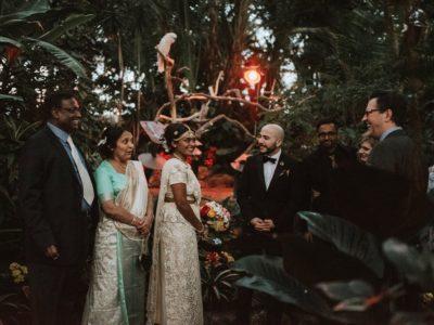 Priya + Ernesto | Bloedel Conservatory Wedding