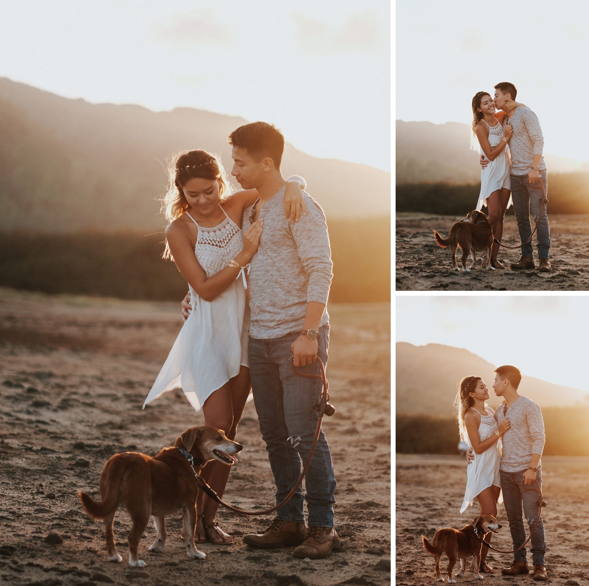 hawaii engagement photos