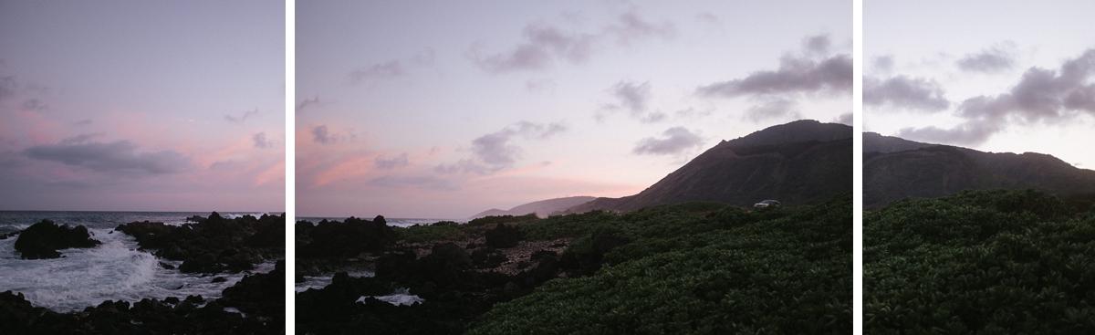 Oahu sandy beach Hawaii