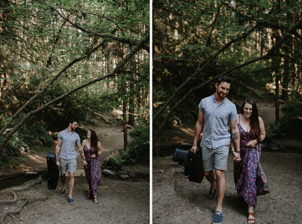 Lynn Canyon engagement