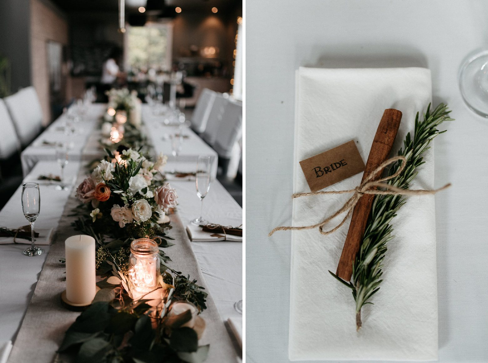 wedding table setting inspiration
