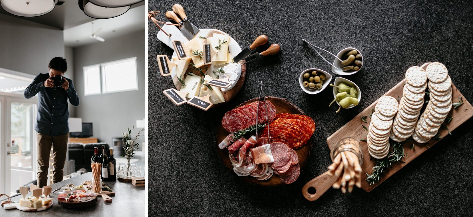 charcuterie board for photography