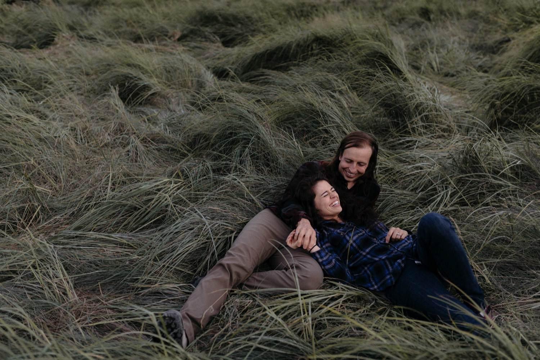 Squamish estuary engagement session